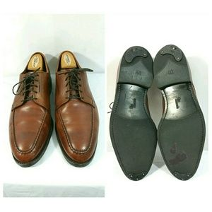 Allen Edmonds Powell Chili Brown Leather Shoes